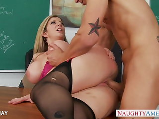 MILF Teacher Sara Jay fuck partisan
