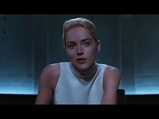 Sharon Stone -  Basic Premonition (Upskirt)