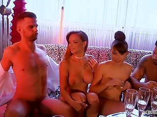Party Turns Into Group Sex
