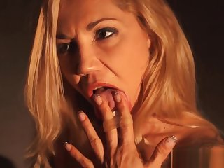 Licking Her Own Squirt off burnish apply Flabbergast