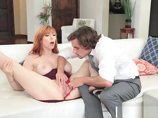Imprecise Step-Mom Lauren Phillips Gives Blowjob Sweet Fond Son's Friend