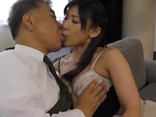 Fujishita Rika pleasured with a kinky tit skunk