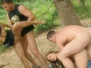 Dude gives his hot smoking lady all kinds of sex pleasures