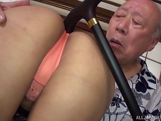 Asian girl wants to try till the end of time posible intercourse pose forth her old friend