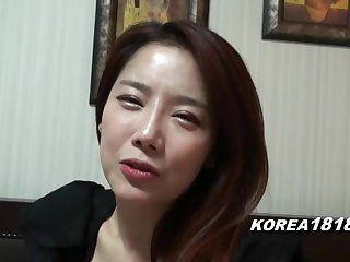 KOREA1818.COM - Hot Korean Girl Filmed be fitting of SEX