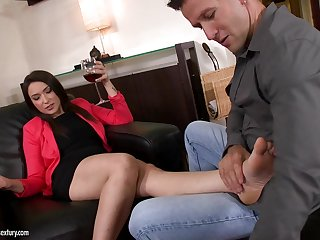 Akasha Cullen Foot Fetish Porn