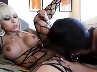 Tgirl shemale fucks guy together with cums
