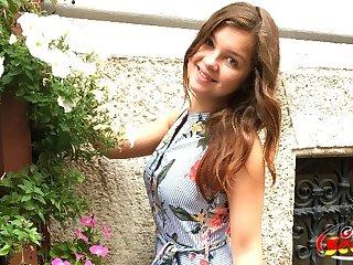 Petite teen Renata Apollyon hardcore porn video
