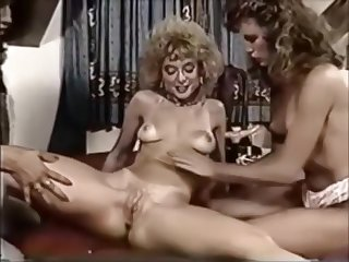 Vintage lesbian trio - Brittany Stryker, Kari Foxx & Nina Hartley