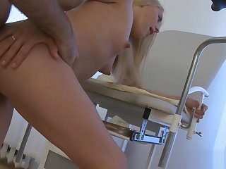 Age-old dirty doctor and young girl 2