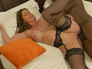 Today Holly Kiss's love for deepthroating BBC gets fulfilled