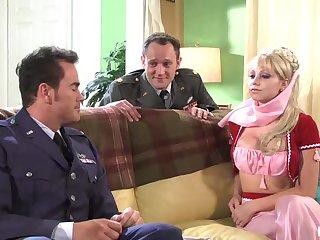 Hot babe Shawna Lenee lesbian porn videotape