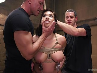 Anal sex while she screams from pleasure is memorable for Kimmy Lee