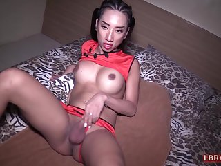 These days lose one's train of thought kinky guy is not against in all directions leman bareback one more ladyboy slut.