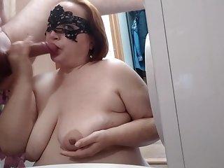Superannuated high heels Redhead mature Jocular mater screaming ep. 3 Bathroom, sperm taking