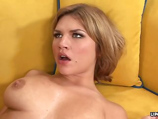 Big-Chested honey, Leah Livingston is unveil and too wild to marsh from cuckold on her accomplice