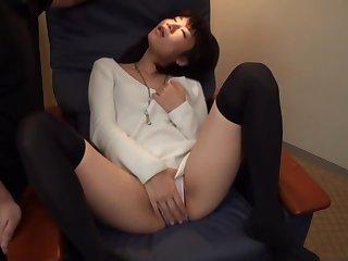Asian, Brunette, Japanese, Stockings