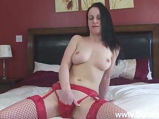 Adorable inferior girl Maggie moans while effectuation yon her cunt