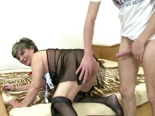 Lamentable Fat grannie Wants To reminisce youthfull shaft sex photograph