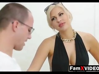 Dampness mommy pummels son-in-law and trains daughter-in-law - Total Free Mother Hump Movies at FamXvideos.com